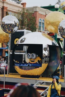 Disco Minion at Universal Studios Japan